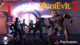 Medievil 2 (Gameplay en Español, Ps1) Capitulo 1 El Museo