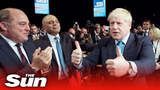 Boris' best gags at the Conservative Party Conference