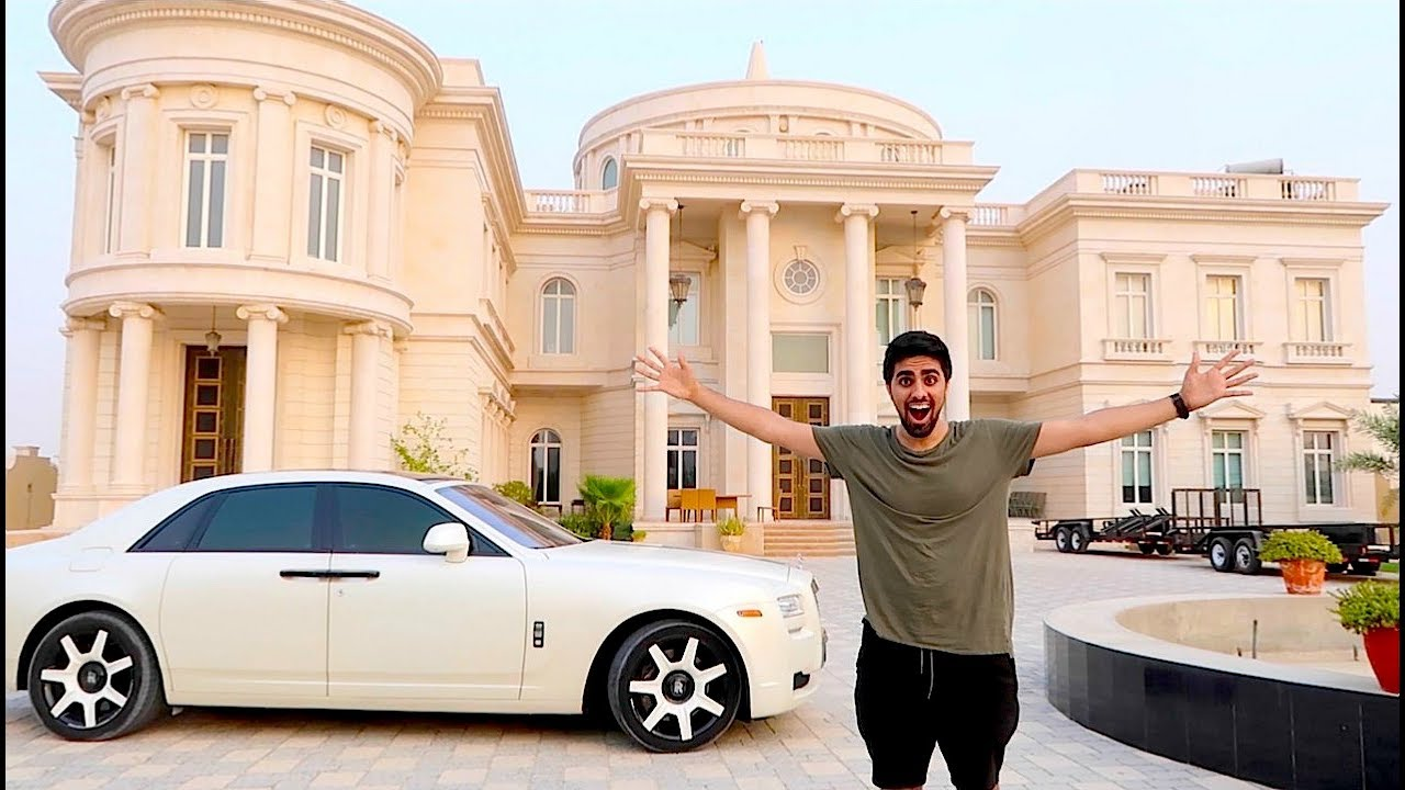 Most Expensive Car In The World >> DUBAI'S MOST EXPENSIVE HOUSE !!! - YouTube