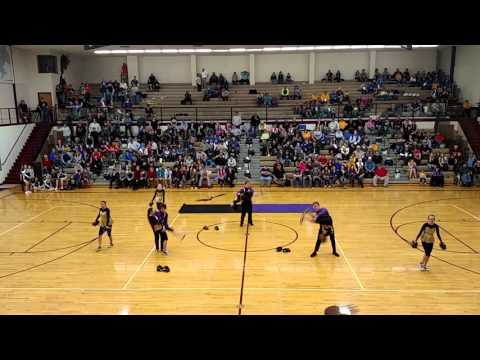 Culbertson High School Drill Team 2016