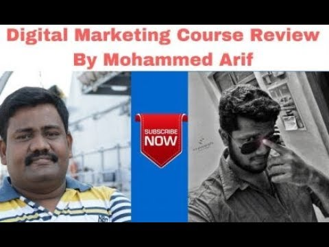 Digital Marketing Course in Chennai Review by Mohammed Arif   Digital Marketing Training in Tamil thumbnail
