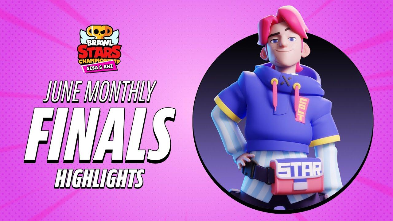 Brawl Stars Championship 2021 - June Monthly Finals Highlights [SESA & ANZ]