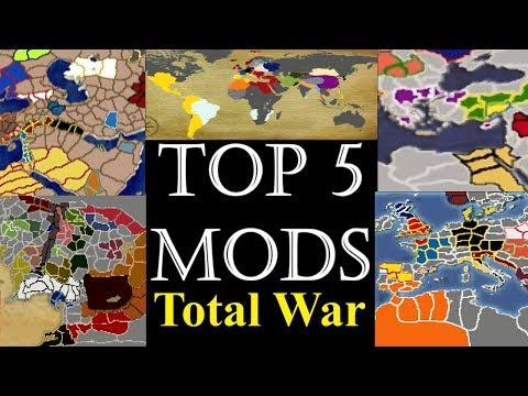 Top 5 Medieval 2 Total War MODS (Campaign)