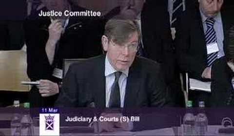 Lord President Lord Hamilton on appointing the judiciary