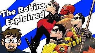 EVERY Robin's Origin & History Explained!