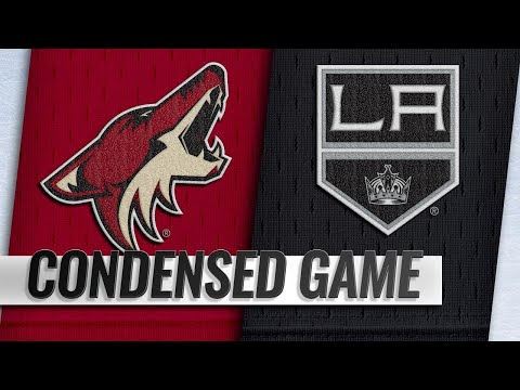 12/04/18 Condensed Game: Coyotes @ Kings
