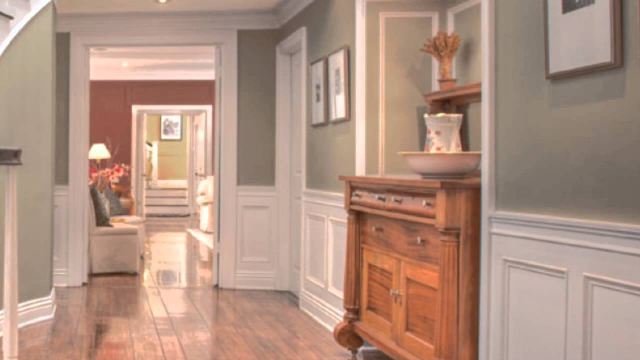 Using colors in a hallway youtube for Best colour for hall