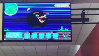 Angry Birds Bowling at the Fort Belvoir Bowling Center