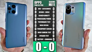Oppo Find X3 Pro vs Xiaomi Mi11 - Ultimate Smartphone Comparison Match - Who Wins?