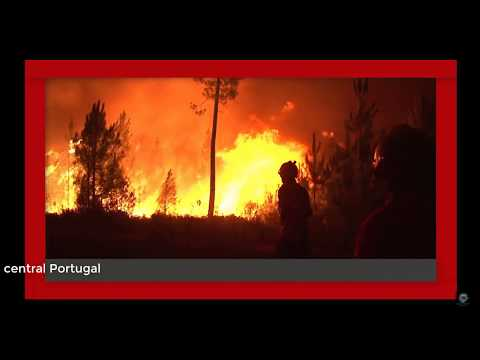 Wildfires capture  2000 villagers in central Portugal : Review Current World News