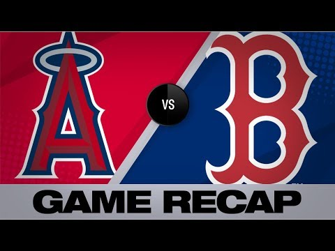 Trout, Upton power Angels past Red Sox | Angels-Red Sox Game Highlights 8/10/19