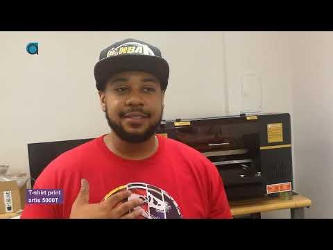 Ohio, USA - artis 5000T DTG printer - on site installation and training