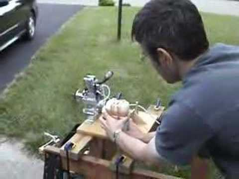 Nitro Engine Test Stand Youtube