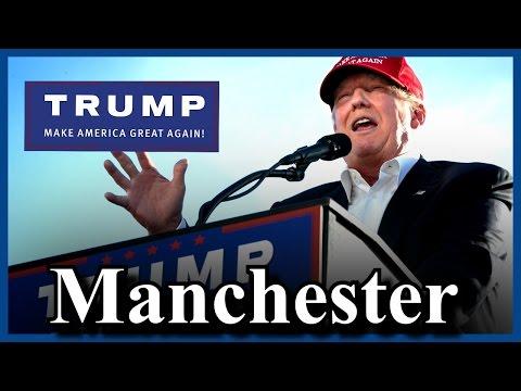 Donald Trump Address The Nation Manchester Saint Anselm College New Hampshire