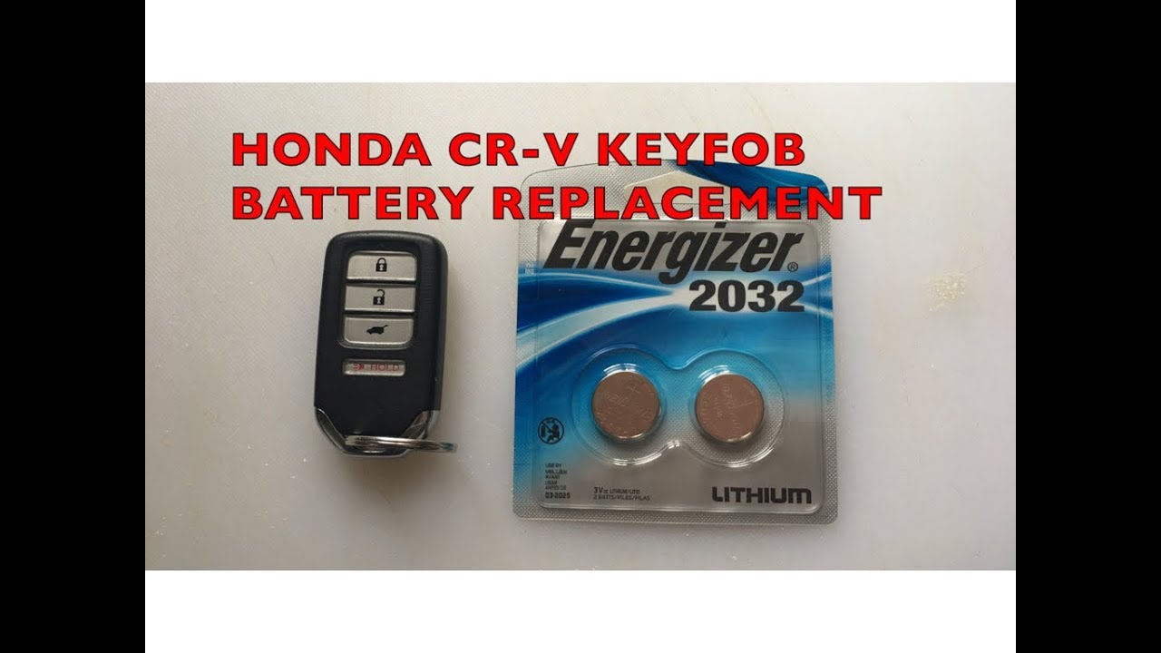 2015 Honda CR-V Key Fob Battery Replacement