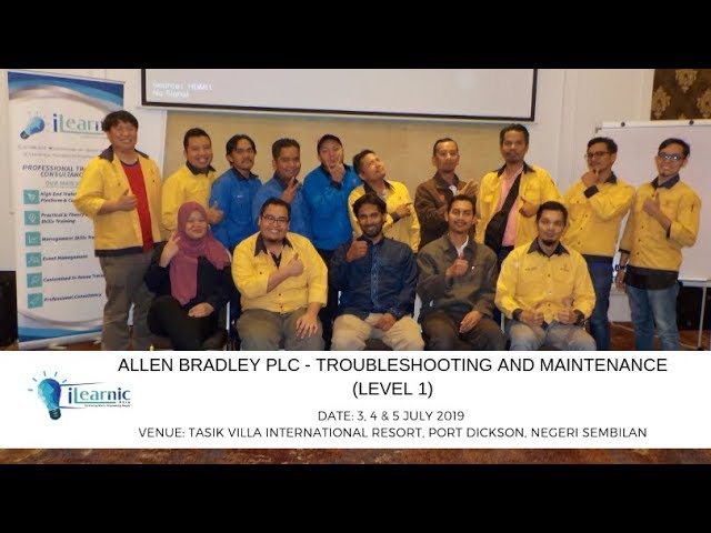 2019 July | Allen Bradley PLC - Troubleshooting and Maintenance (Level 1)