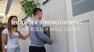 YUNITI Lifestyle x Michelle Kwok: Shoulder Strengthening - Foam Roller Wall Slides