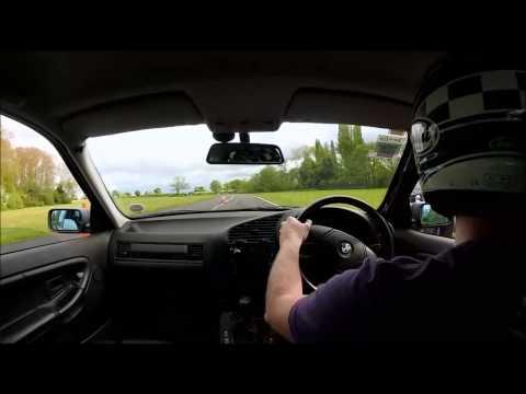BMW E36 328i - Curborough 2015 Testing Nankang NS-2Rs