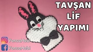 Tavşan Lif Yapımı - Rabbit Bath Sponge Tutorial - YoncaHobby