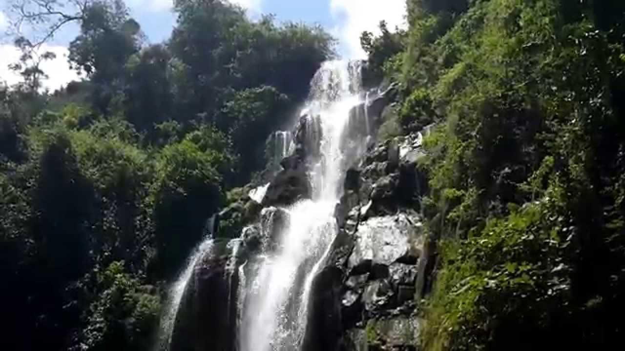Ndoro Waterfalls on Mt. Kilimanjaro in Tanzania Africa ...