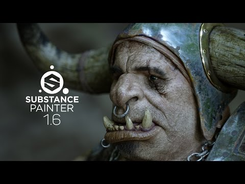 Substance Painter 1.6 - 3D Painting with Soul