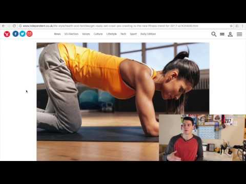 GET FIT BY CRAWLING! Fitness trends for 2017