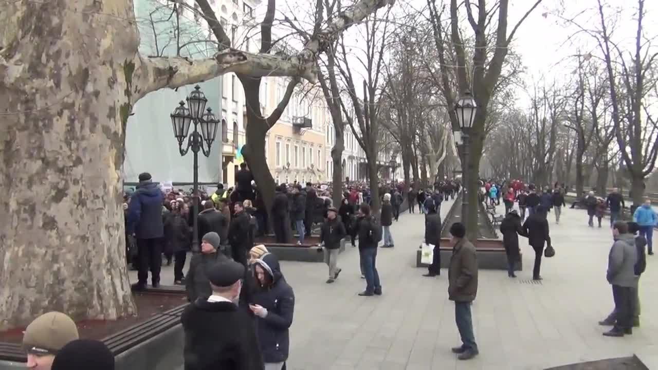 Последние новости сегодня Многотысячный митинг в Одессе ...