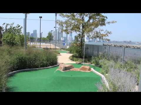 Thrillist - Pier 25 Mini Golf Tips - New York, NY