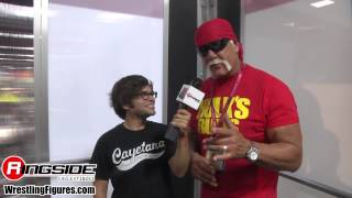 HULK HOGAN SDCC 2014 Mattel WWE Figure Interview wrestling figures