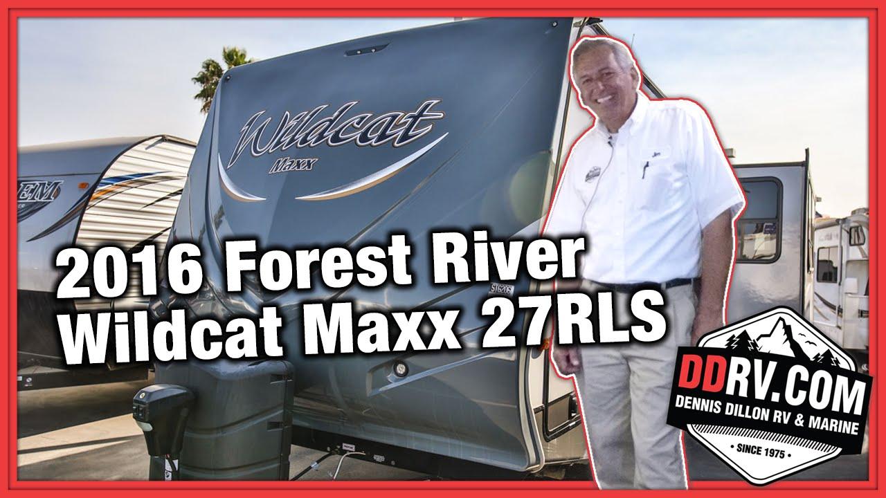 Dennis Dillon Rv >> 2016 Forest River Wildcat Maxx 27rls Ddrv Com