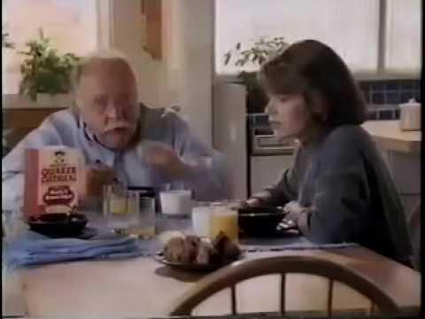 Instant Quaker Oatmeal ad w/Wilford Brimley, 1991