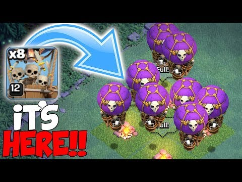 ALL DROP SHIPS RAID!!! | clash of clans | New troop update!!!