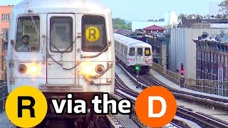 ⁴ᴷ R Trains running on the West End Line