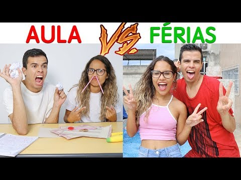 AULAS VS FÉRIAS - KIDS FUN