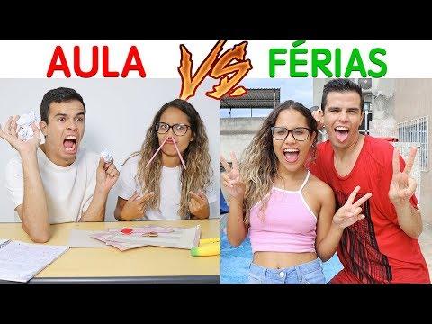 Download Youtube: AULAS VS FÉRIAS - KIDS FUN