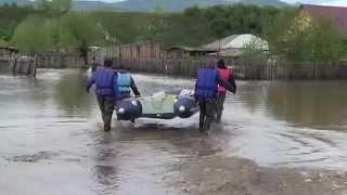 Наводнение в Солонешном. 30 мая 2014 года.