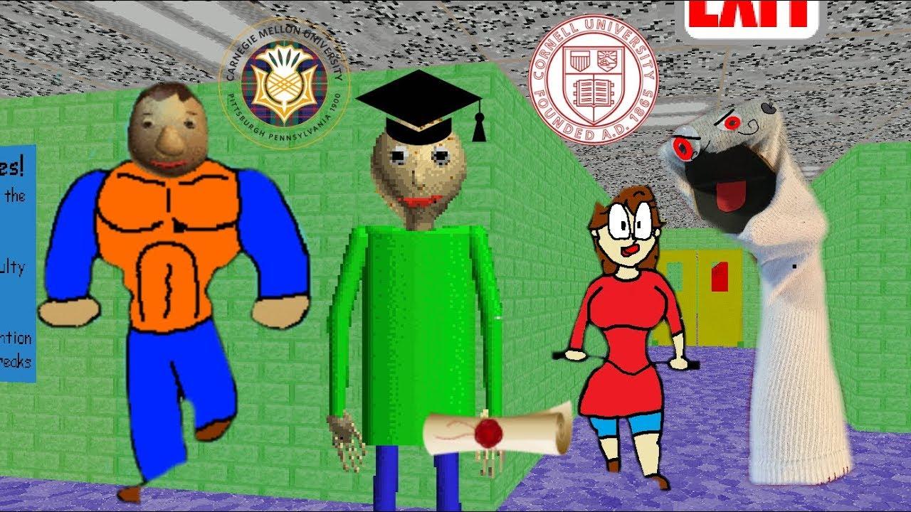 Puf Baldi Basic : Baldi goes to college s the of learning