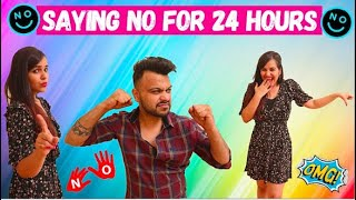 Saying NO to Everything for 24 HOURS (PRANK WARS)