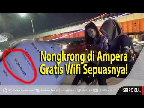 Video Jembatan Ampera Difasilitasi Wifi Gratis Sepuasnya