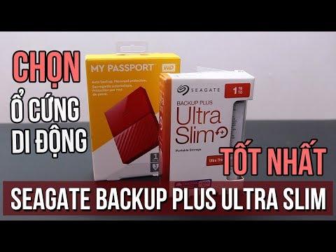 Ổ cứng di động nào tốt nhất? - Seagate Backup Plus Ultra Slim vs WD My Passport