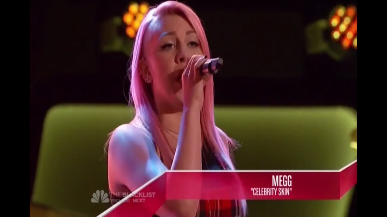 """The Voice 2014 - MEGG: """"Celebrity Skin"""" (Non-Chair Turner)"""