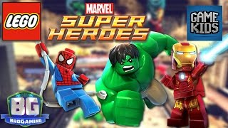 Lego Marvel Super Heroes Gameplay - Bro Gaming