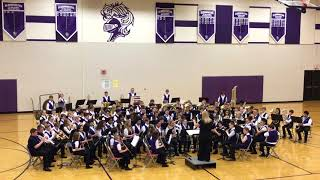 """Knights of Destiny"" BJHS 6th Grade Band Spring Concert"