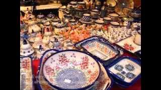 Polish Pottery And Ceramics For Outdoor And Flea Markets