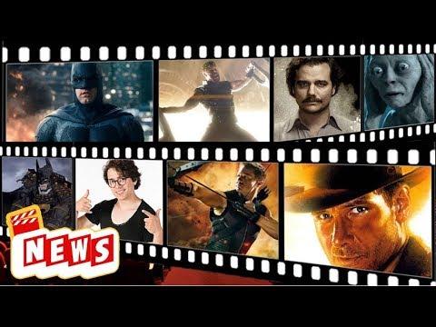 Regresa Indiana Jones,Manu 4 elementos,Batman Japonés?, Videojuego Narcos #ComboNews