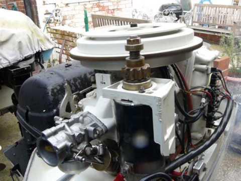 Chrysler 45 hp long shaft outboard motor rebuilt youtube.