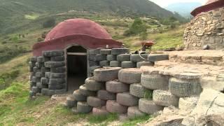 Llantas para construir casas