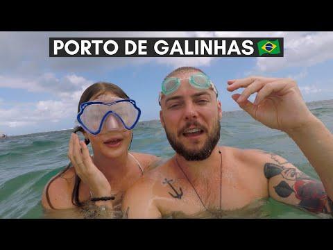 SNORKELING AT PORTO DE GALINHAS 🇧🇷 BRAZIL DAILY TRAVEL VLOG