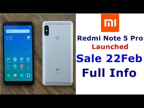 Redmi Note 5 Pro, Sale Date, Full Information, Must Watch