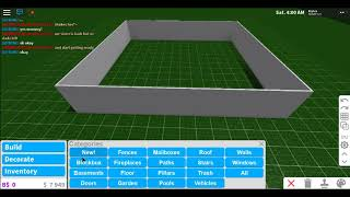 Making my overseer Future house (Roblox welcome to bloxburg)